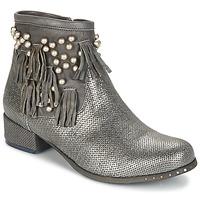 Skor Dam Boots Mimmu MOONSTROP Mullvadsfärgad / Silver
