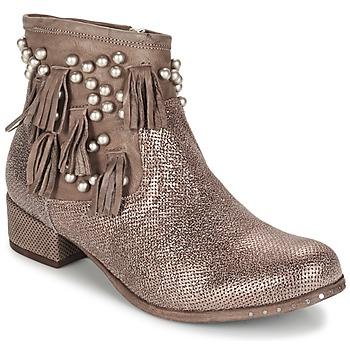 Skor Dam Boots Mimmu MOONSTROP Silver