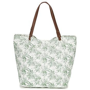 Väskor Dam Shoppingväskor Petite Mendigote CLEA Benvit / KAKI