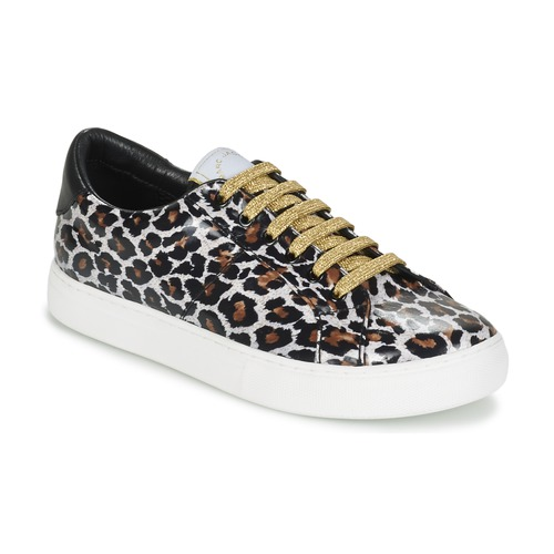 Skor Dam Sneakers Marc Jacobs EMPIRE LACE UP Leopard