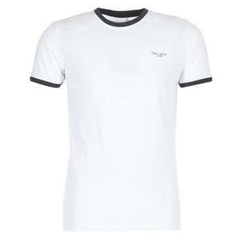 textil Herr T-shirts Teddy Smith THE TEE Vit