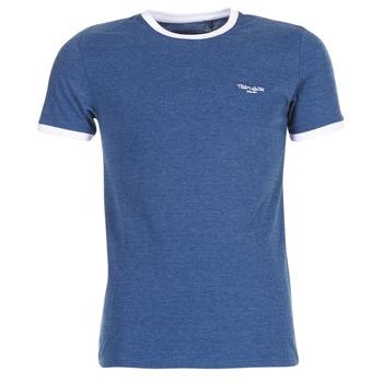 textil Herr T-shirts Teddy Smith THE TEE Blå