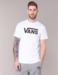 textil Herr T-shirts Vans VANS CLASSIC Vit