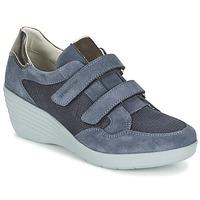 Skor Dam Sneakers Stonefly EBONY Blå