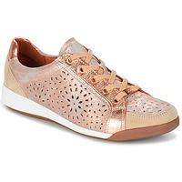 Skor Dam Sneakers Ara ZIMELLE Rosa / Metallfärg