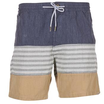 textil Herr Shorts / Bermudas Volcom THREEZY JAMMER Marin / Beige / Grå