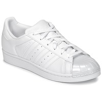 Skor Dam Sneakers adidas Originals SUPERSTAR GLOSSY TO Vit