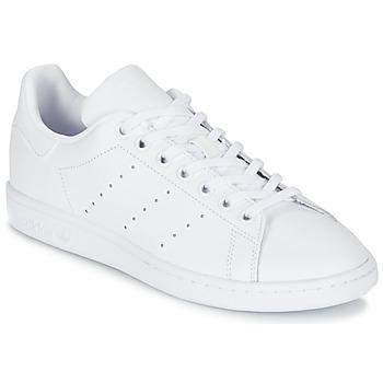 Skor Barn Sneakers adidas Originals STAN SMITH J Vit