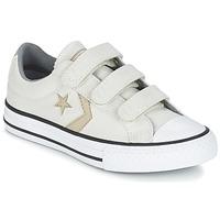 Skor Pojk Sneakers Converse STAR PLAYER 3V TEXTILE OX Benvit / KAKI