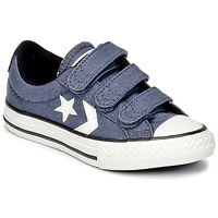 Skor Pojk Sneakers Converse STAR PLAYER 3V VINTAGE CANVAS OX Blå / Vit