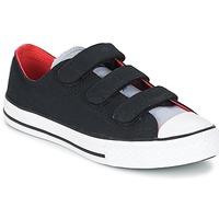 Skor Pojk Sneakers Converse CHUCK TAYLOR ALL STAR 3V SPRING FUNDAMENTALS OX Svart / Blå / Vit