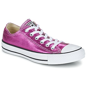 Skor Dam Sneakers Converse CHUCK TAYLOR ALL STAR SEASONAL METALLICS OX Rosa / Metallfärg