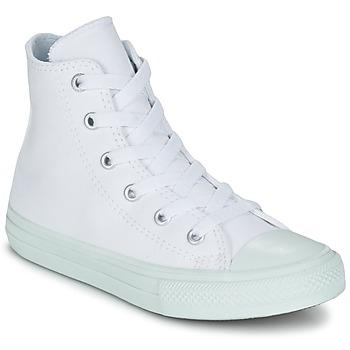 Skor Flick Höga sneakers Converse CHUCK TAYLOR ALL STAR II PASTEL SEASONAL TD HI Vit / Blå / Himmelsblå