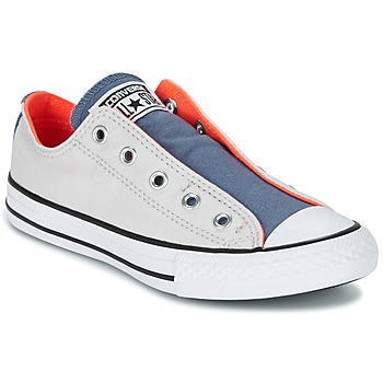 Skor Barn Sneakers Converse CHUCK TAYLOR ALL STAR SLIP SUMMER FUNDAMENTALS SLIP Grå / Blå / Orange