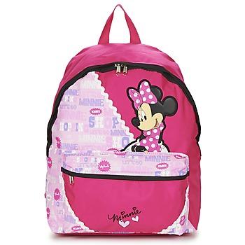 Väskor Flick Ryggsäckar Disney MINNIE SCRATCH DOTS SAC A DOS BORNE Rosa