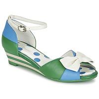 Skor Dam Sandaler Lola Ramona LENNIE Blå / Grön