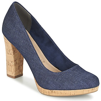 Skor Dam Pumps Tamaris KEGE Denim