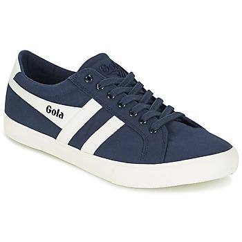 Skor Herr Sneakers Gola VARSITY Marin / Vit