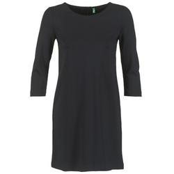 textil Dam Korta klänningar Benetton SAVONI Svart