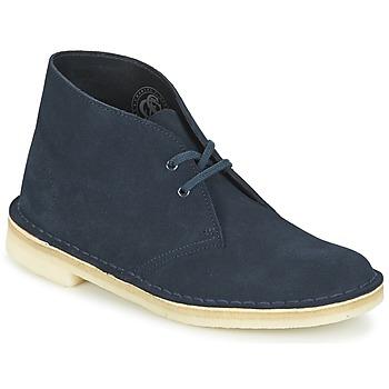 Skor Dam Boots Clarks DESERT BOOT Blå