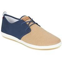 Skor Herr Sneakers Lafeyt MARTE SUMMER CHAMBRAY Marin / Beige