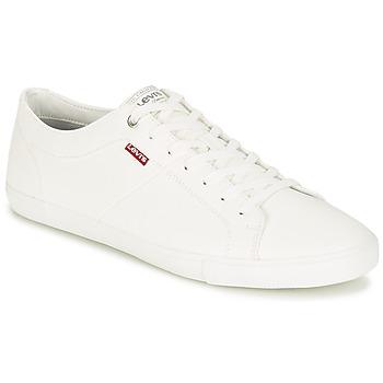 Skor Herr Sneakers Levi's WOODS Vit