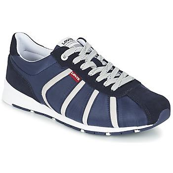 Skor Herr Sneakers Levi's ALMAYER II Marin / Vit