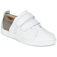 Skor Dam Sneakers M. Moustache RENEE Vit / Jacquard