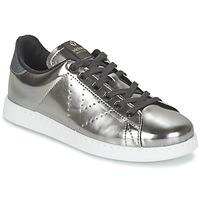 Skor Dam Sneakers Victoria DEPORTIVO BASKET METALLISE Silver