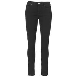 textil Dam Skinny Jeans MICHAEL Michael Kors DNM SELMA SKINNY Svart