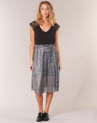 textil Dam kjolar Betty London FOYEUSE Silverfärgad
