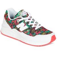 Skor Dam Sneakers New Balance W530 Grön / Röd