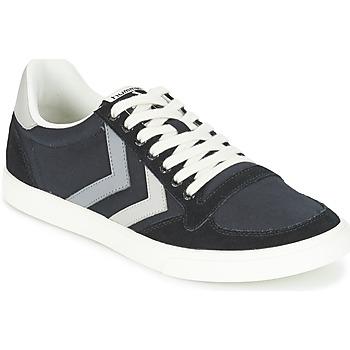Skor Sneakers Hummel TEN STAR DUO CANVAS LOW Svart / Grå