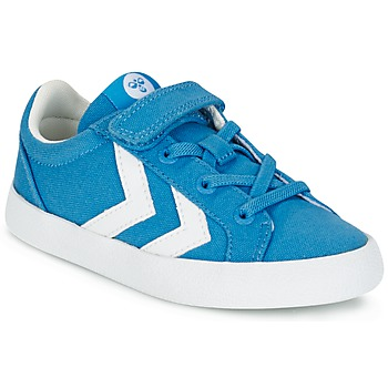 Skor Barn Sneakers Hummel DEUCE COURT JR Blå