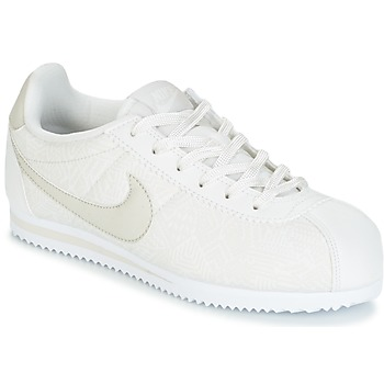 Skor Flick Sneakers Nike CORTEZ LEATHER SE JUNIOR Beige
