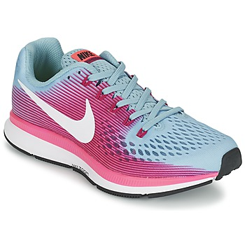 Skor Dam Löparskor Nike AIR ZOOM PEGASUS 34 Blå / FUCHSIA