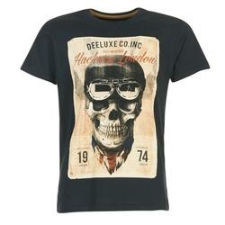textil Herr T-shirts Deeluxe CLEM Grå / Beige