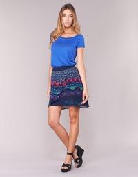 textil Dam kjolar Desigual RASSENIO Marin