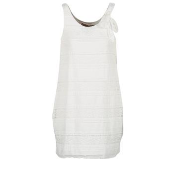 textil Dam Korta klänningar Desigual KERASO Vit