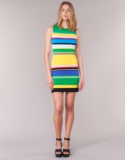 textil Dam Korta klänningar Desigual LIURASE Flerfärgad