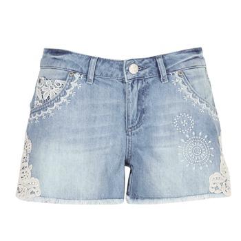 textil Dam Shorts / Bermudas Desigual MARTESSA Blå