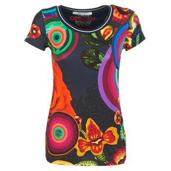 textil Dam T-shirts Desigual GRIZILLO Flerfärgad