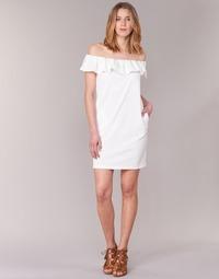 textil Dam Korta klänningar See U Soon 7123017 Vit