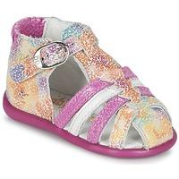 Skor Flick Sandaler Babybotte GUPPY Rosa / Flerfärgad