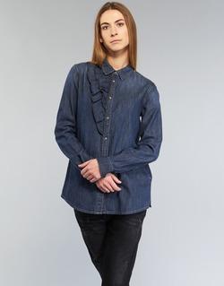textil Dam Skjortor / Blusar Diesel DE KELLY Blå