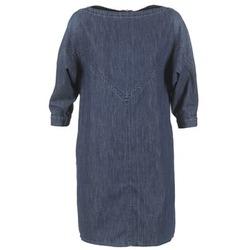 textil Dam Korta klänningar Diesel DE CHOF Blå