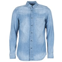 textil Herr Långärmade skjortor Diesel D CARRY Blå