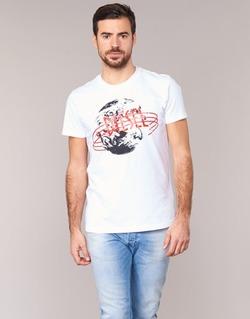 textil Herr T-shirts Diesel T DIEGO NC Vit