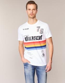 textil Herr T-shirts Diesel T JOE OB Vit
