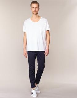 textil Herr Chinos / Carrot jeans Diesel SLIM CHINO JOGGJEANS Blå / 0680F